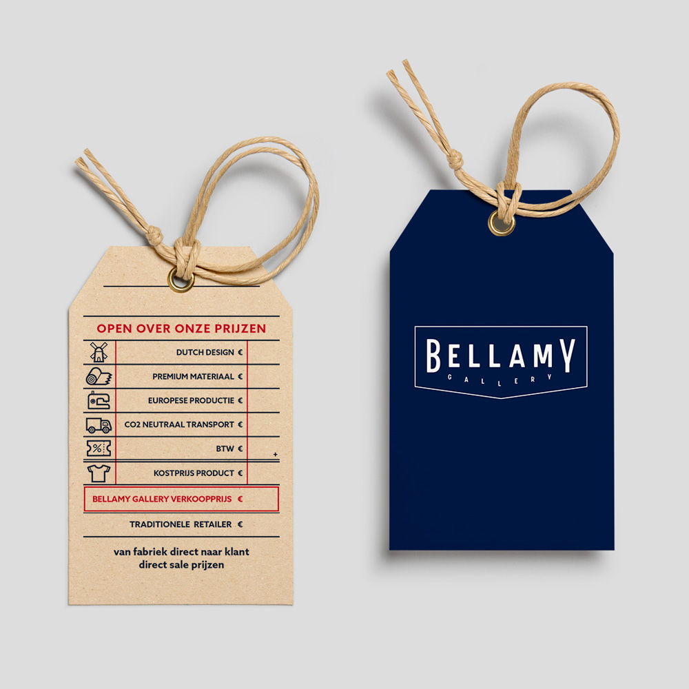 Bellamy Gallery / Dutchy Design / Branding & Design Portfolio