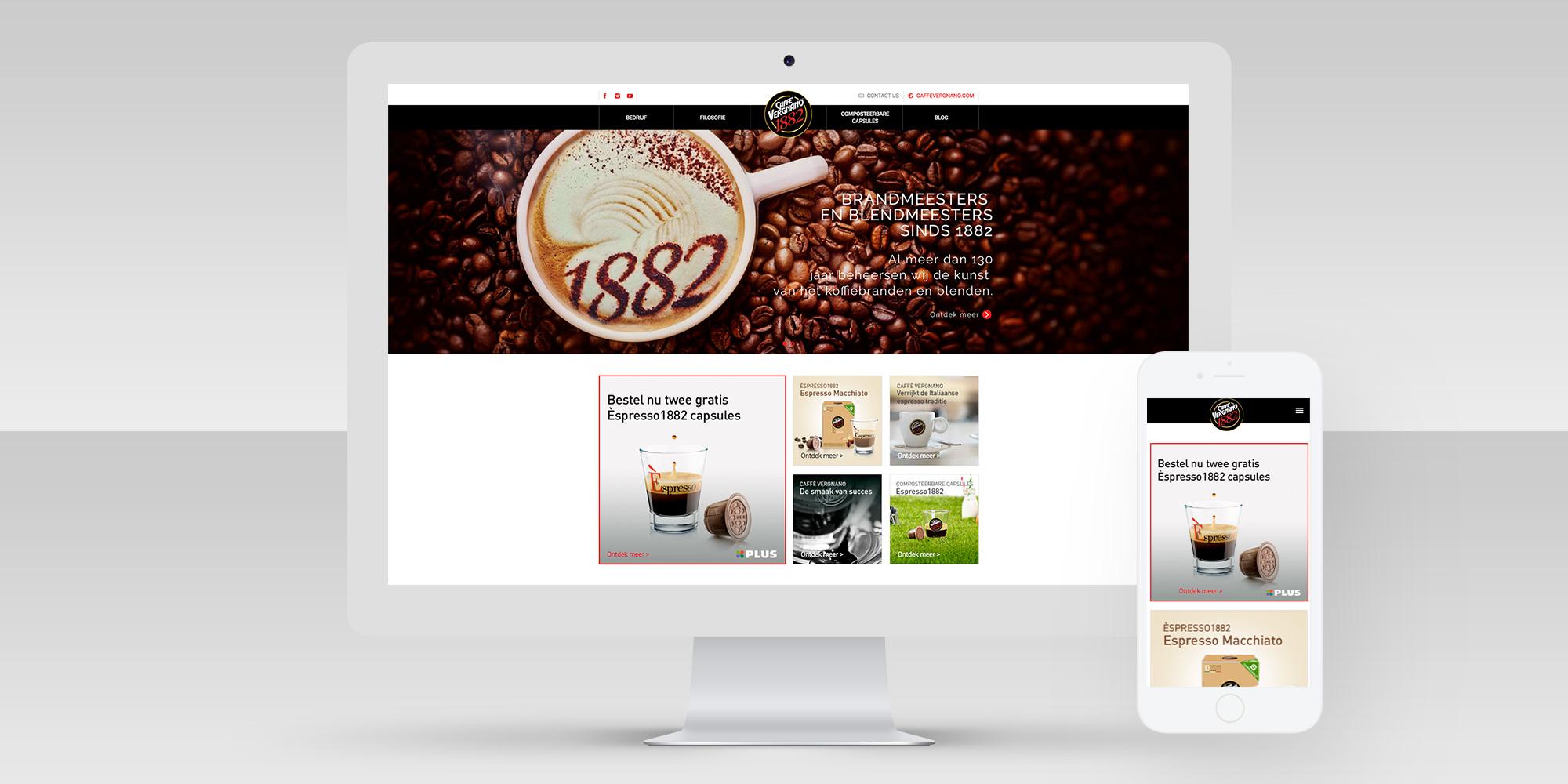 Caffè Vergnano / Dutchy Design / Branding & Design Portfolio