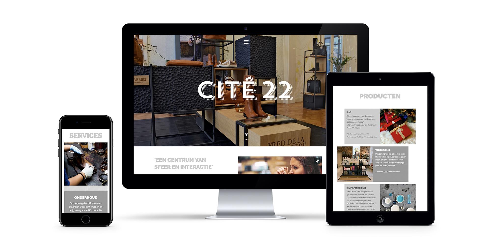 Cite 22 / Dutchy Design / Branding & Design Portfolio