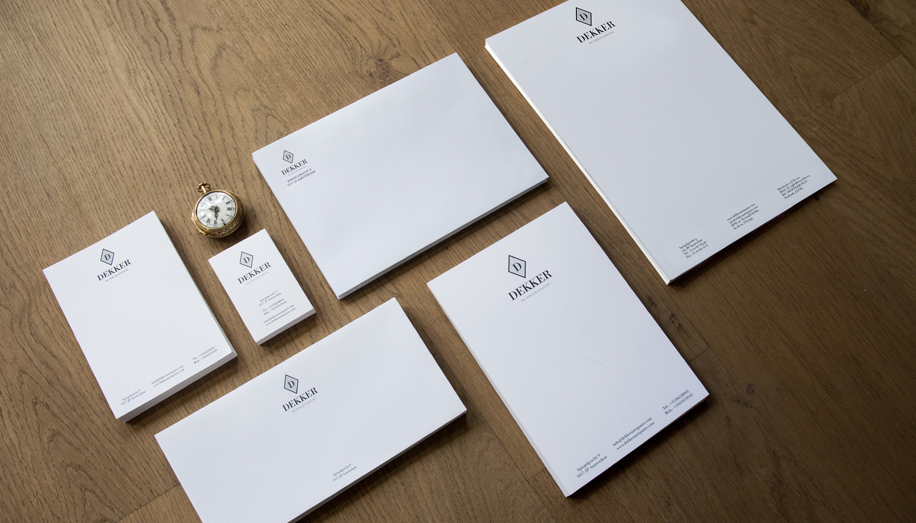 Dekker Antiquairs / Dutchy Design / Branding & Design Portfolio