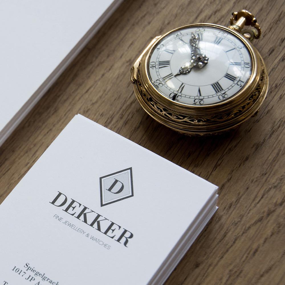 Dekker Antiquairs / Dutchy Design / Branding & Design Portfolio