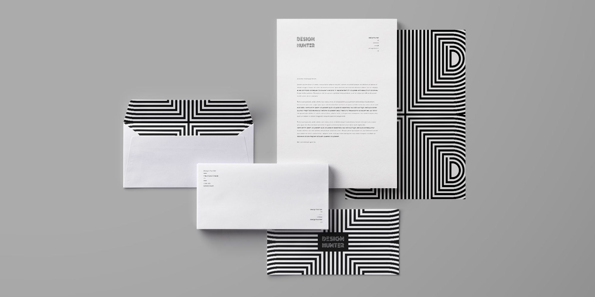 Design Hunter / Dutchy Design / Branding & Design Portfolio