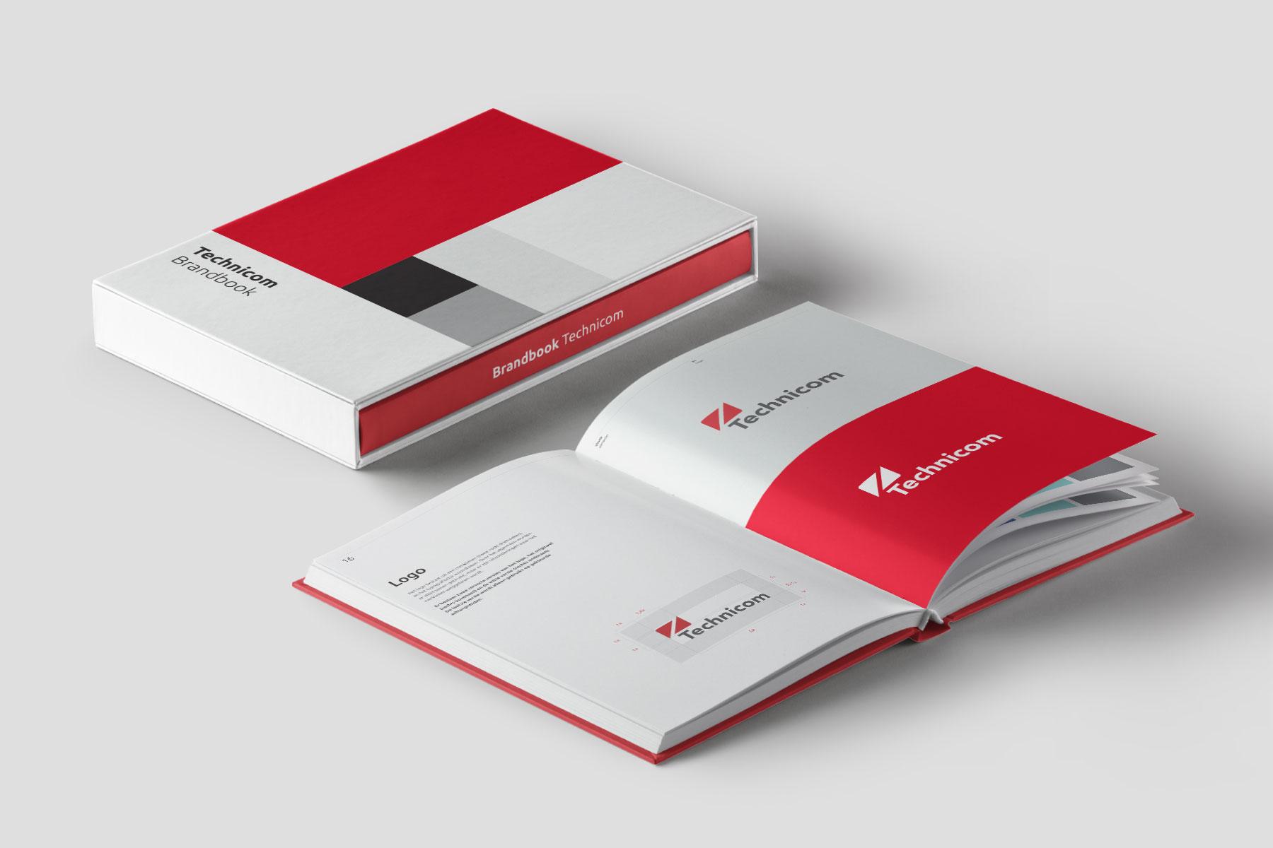 Technicom / Dutchy Design / Branding & Design Portfolio