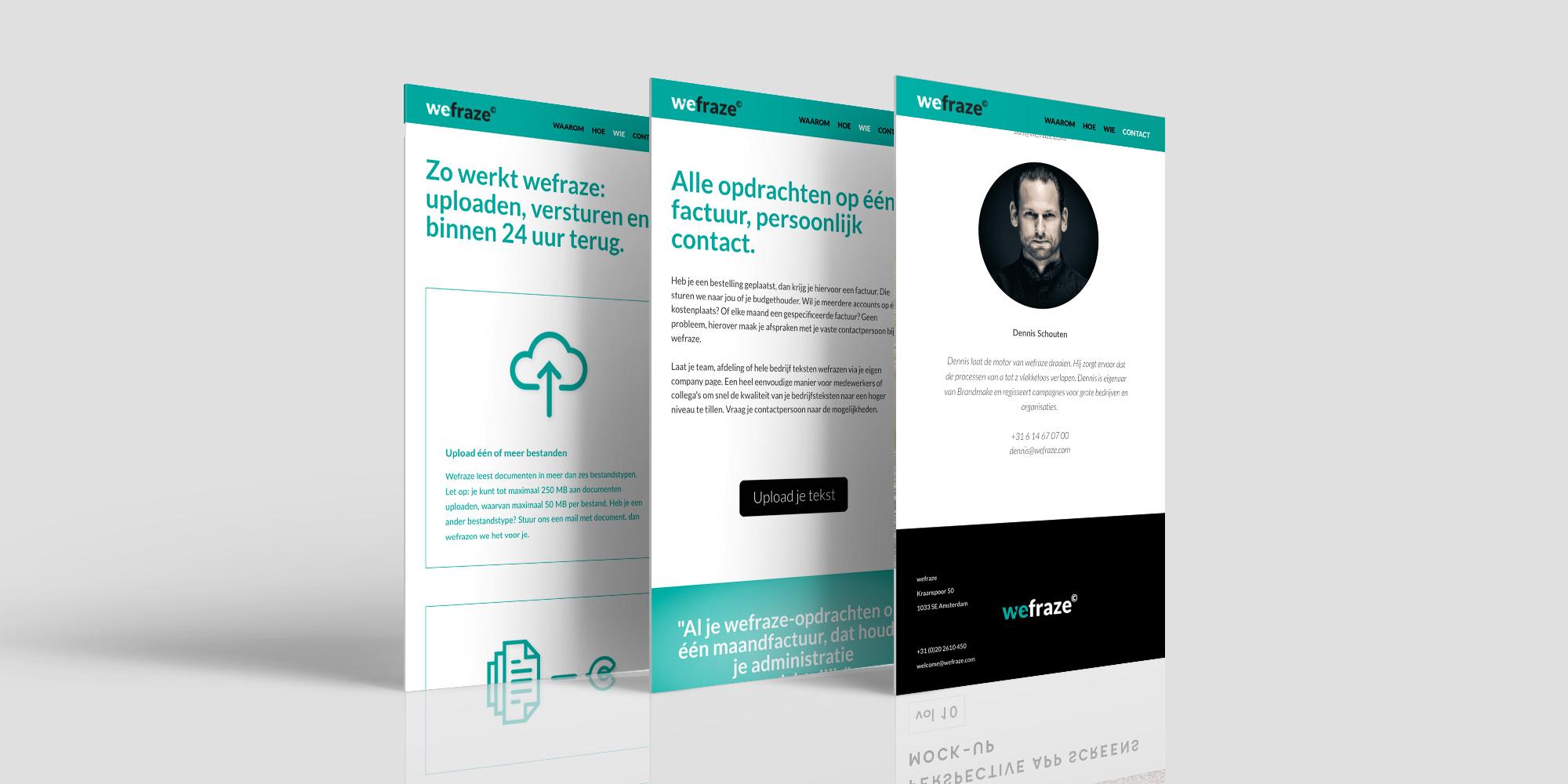 Wefraze / Dutchy Design / Branding & Design Portfolio